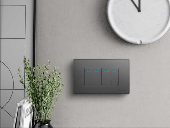 Smart Light Switch Socket 118 4 Gang Smart Home