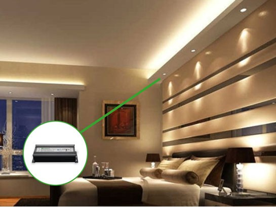 cv triac dimmable led driver - pwm output - smart home