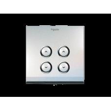 奧智系列 - EZinstall3 - 光暗掣 - 86型開關面板 - 兩位