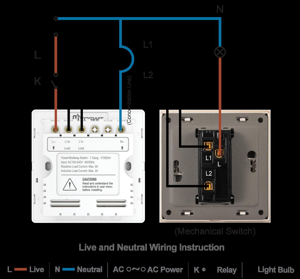 100    100 neutral wire switch 3