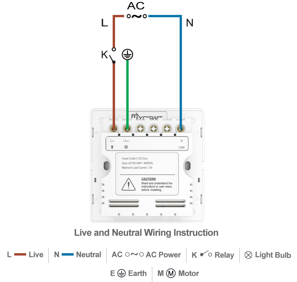 Smart Outlet Electrical Wiring Uk Failure To Connect The Ground Wire Will Result In An Unsafe Installation That Could Lead Personal Injury