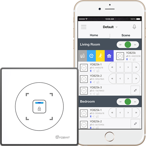 Curtain Switch App