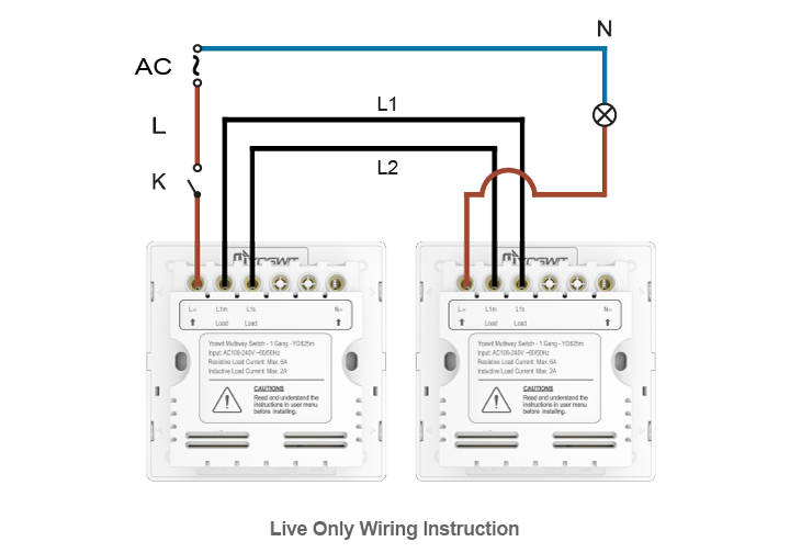 multi way switch wiring diagram